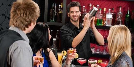 jobba som bartender